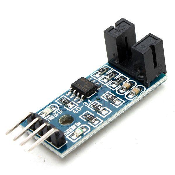 10Pcs Speed Measuring Sensor Counter Motor Test Groove Coupler Module For Arduino
