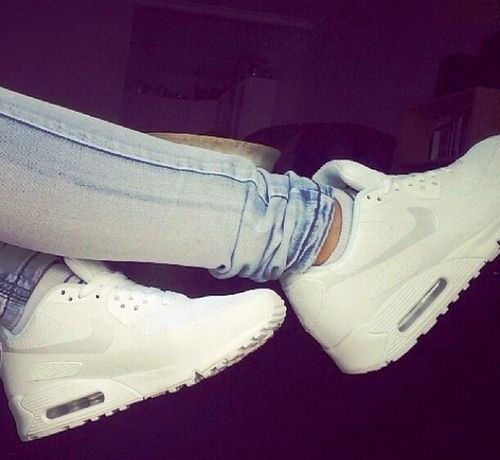 Latest Nike Shoes 2014 For Girls Girl shoes white jeans summer