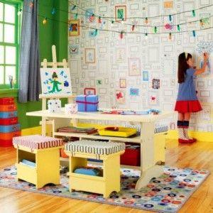 Ταπετσαρία στο παιδικό υπνοδωμάτιο | Small Things