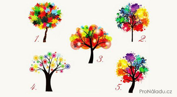 Irena Hufová: Test:   stačí si vybrat strom a dozvíte se hodně s...