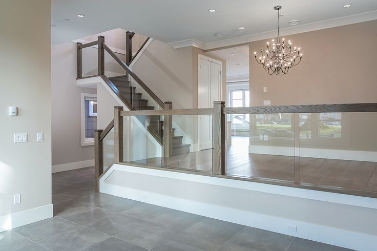 raising a sunken living room best 25 glass railing ideas on glass handrail 19280