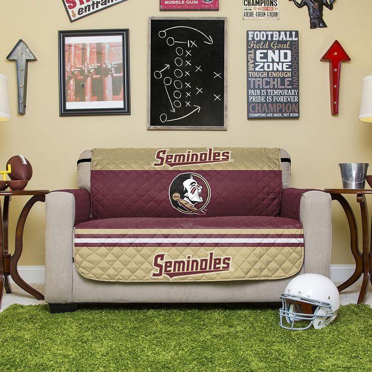 Florida State Seminoles Quilted Loveseat Cover, Multicolor