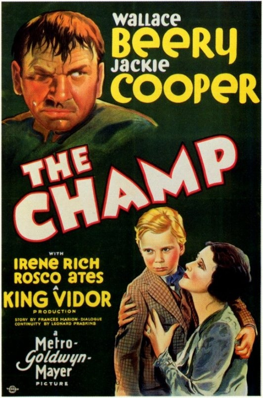 The Champ (1931)  Wallace Beery - Best Actor Oscar 1931-32