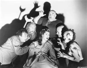 Now this an awesome pic.50S Horror, Finding Cards, Movie Scene, Sleep 1956, Black Sleep, Sleep Movie, Sheep 1956, Black Sheep, Horror Movie