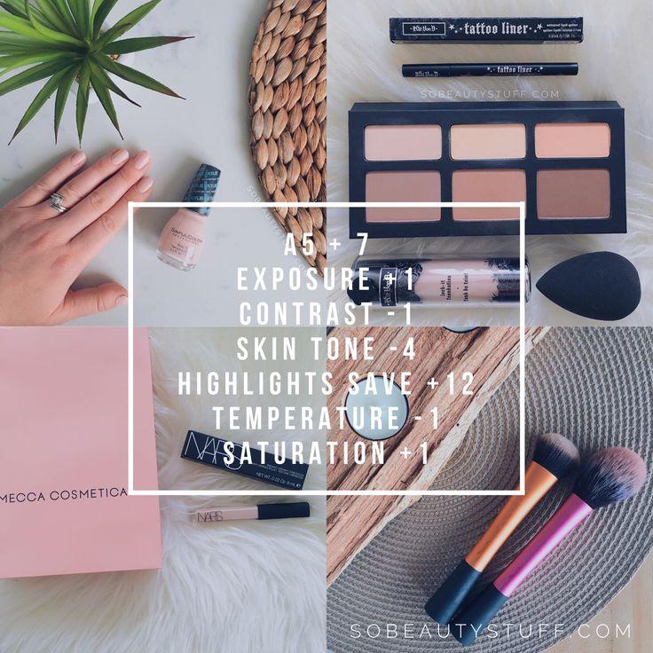 Best VSCO filter for Instagram flatlays
