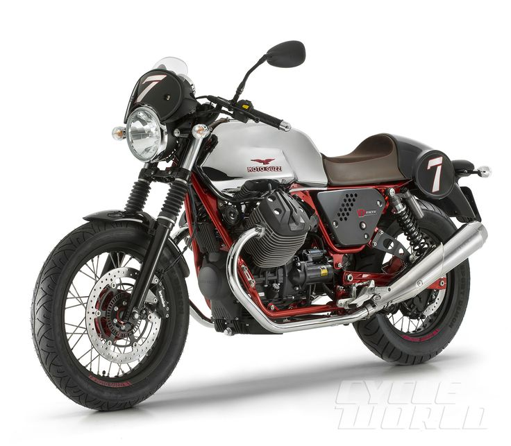 Cycle World - 2016 Moto Guzzi V7 II - First Ride