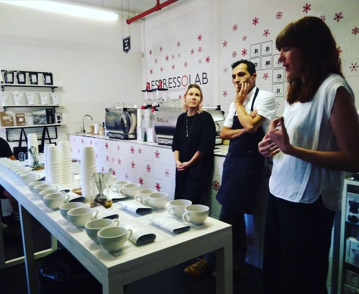 What an absolutely stunning evening cupping of phenomenal #african #coffee with @espressolab and @nordicapproach! #capetown