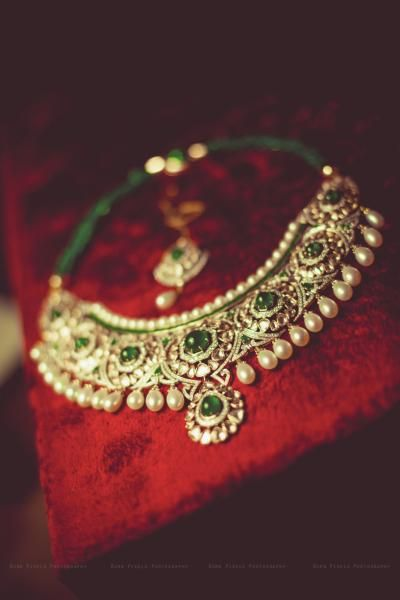 Most Beautiful Indian wedding jewellery.