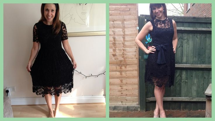 Charity shop lace dress refashioning; read all about it here- http://www.sequinsandslippers.com/2014/04/and-breathe.html