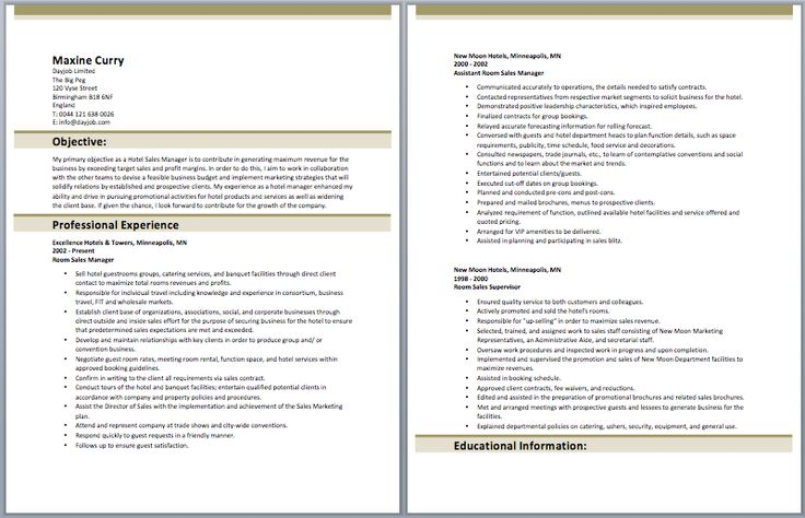 IT Manager Resume Manager Resume Samples Pinterest - territory manager resume