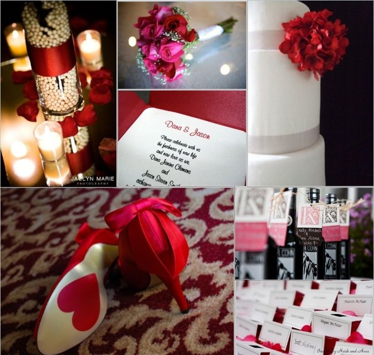 1000+ Images About Valentine Themed Wedding Ideas On