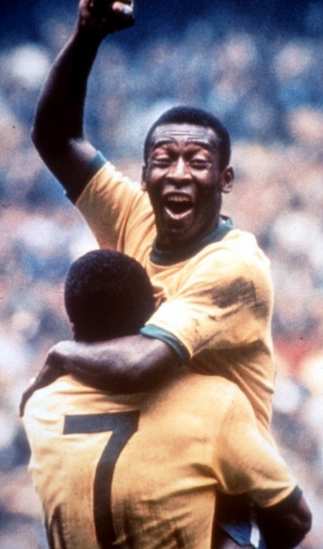 Pelé e Jairzinho Classic photo