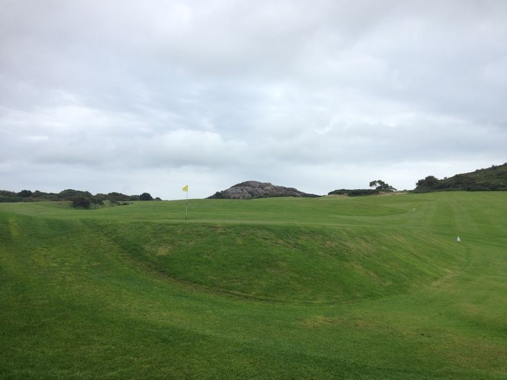 Howth golf course near Dublin.