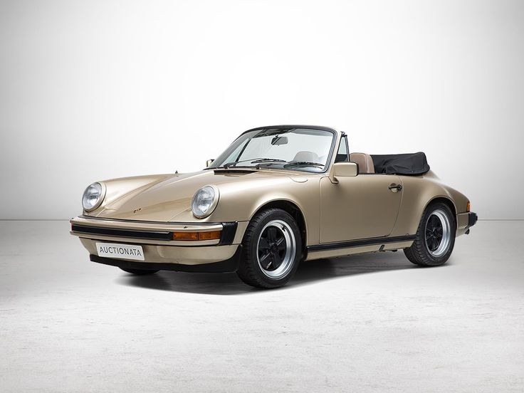 Porsche 911 SC Convertible, First Production Year, Model 1983