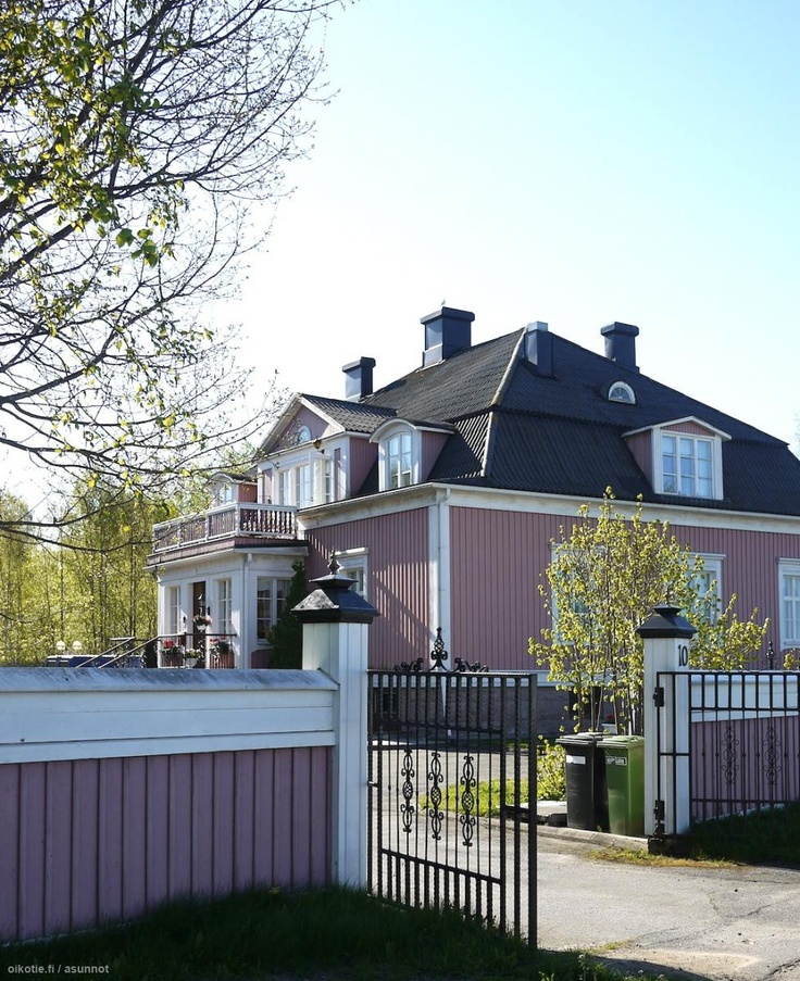 A fabulous house in Kristiinankaupunki, Western Finland