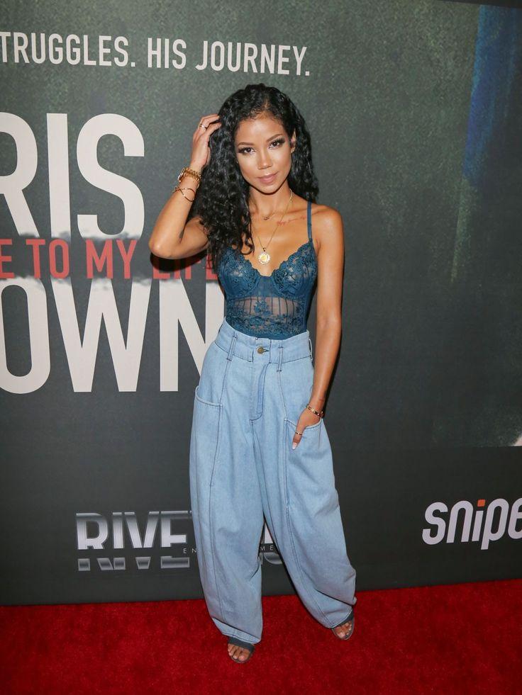 Paparazzi : JHENE AIKO à Chris Brown: Bienvenue à My Life Premiere à Los Angeles 06/06/2017