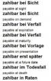 Index-Suche von A-Z (Business English Dictionary