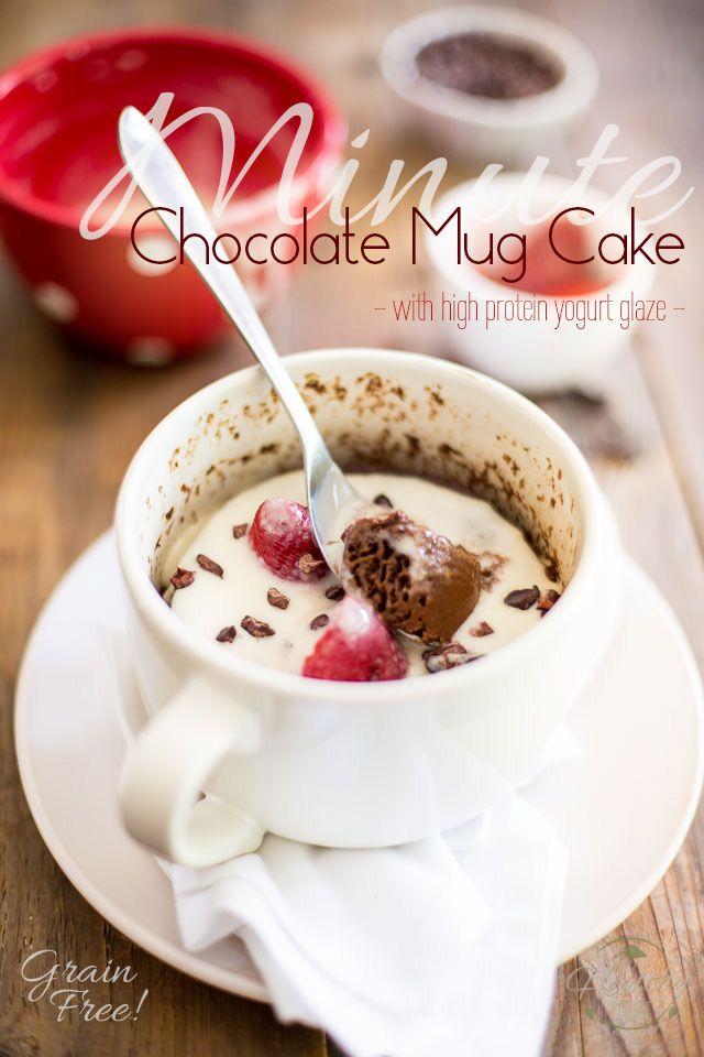 Minute Chocolate Mug Cake | the