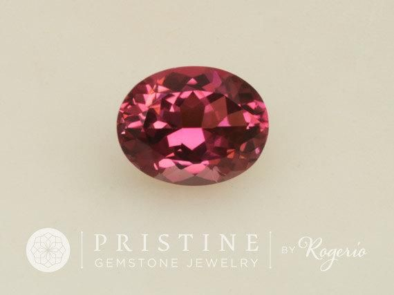 Purple Raspberry Spinel Oval for Engagement Ring 10.4 x 8.2 MM Wholesale Gemstone