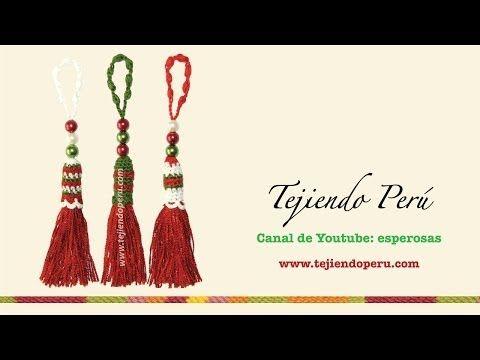 Borlas tejidas a crochet - Tejiendo Perú