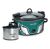 Philadelphia Eagles NFL Crock-Pot 6qt Cook & Carry Slow Cooker