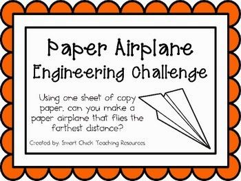 Image result for paper airplane stem activity