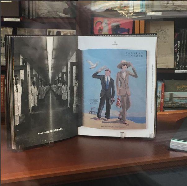 Jpdelhomme. Rizzoli Bookstore. Broadway NYC.