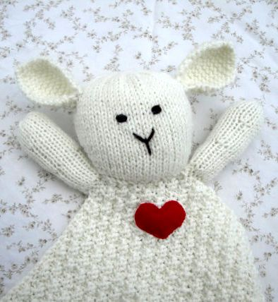 Knitting Pattern For Security Blanket : Over 1000 billeder af Baby Knitting Patterns pa Pinterest ...