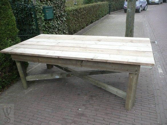 Garden Furniture Made From Scaffolding Planks 13 best scaffold tables images on pinterest | kitchen tables