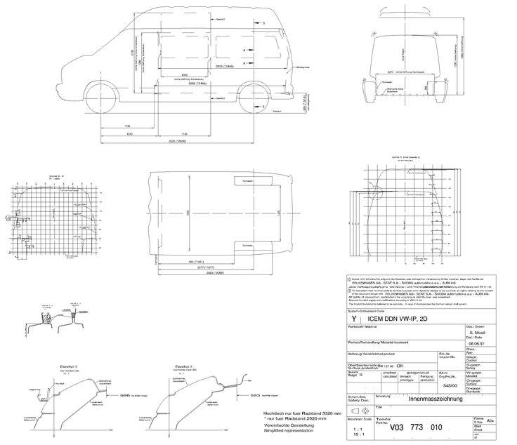 Image result for vw transporter commercial dimensions