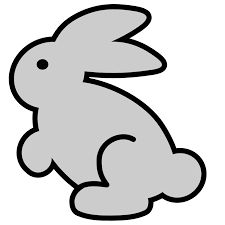 Image result for baby rabbit clipart