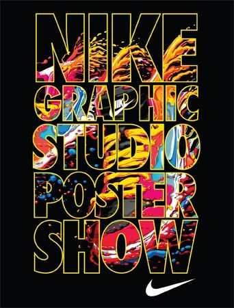 on sale 6fb33 5ee83 Nike Graphic Studio Poster Show