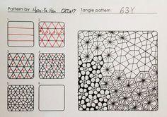 zentangle pattern HI by Hsin-Ya Hsu - Google Search