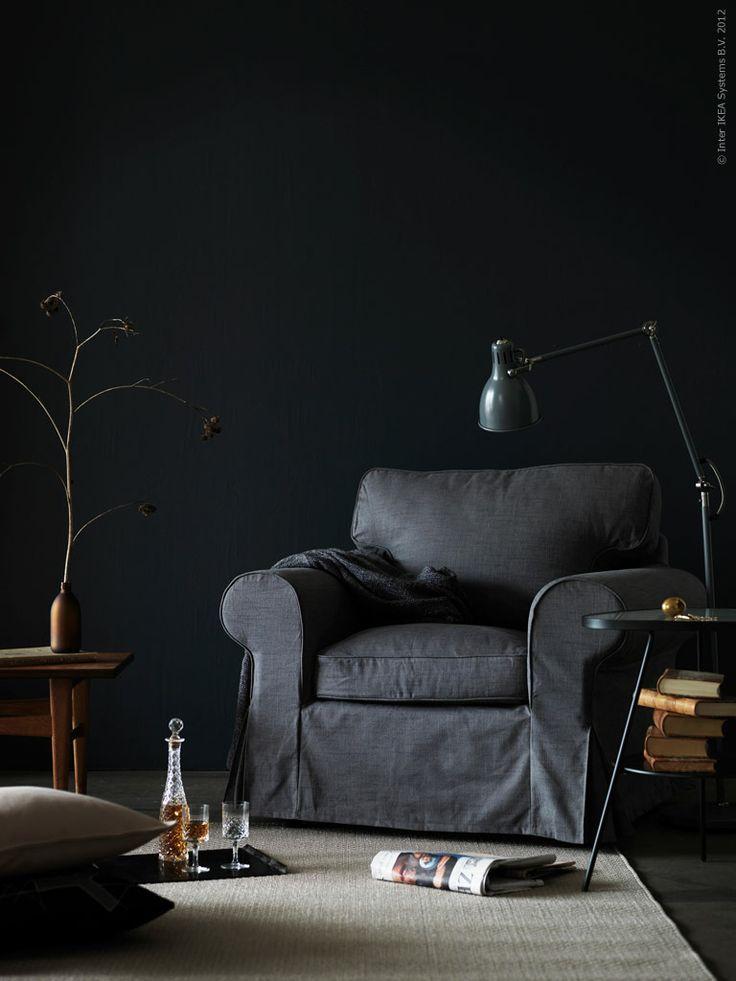 Flera nyanser av grått: EKTORP