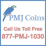 PMJ COINS is a numismatic dealer located on Long Island, NY. At the beginning, our company operated solely as a wholesaler, doing business only with other coin dealers. . A few years ago, we began our retail business, selling directly to the coin collector.