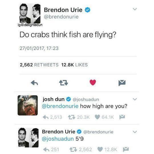 //it's means very in Brendon's mind//