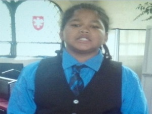 Missing Child Alert Issued For Boy Last Seen Outside Of P.S. 217 In Queens: NEW YORK(CBSNewYork) — A missing child alert was issued for a 10-year-old boy on Saturday.    Reginald Matthews was last seen at P.S. 217 in Queens. He has been described as being black, with black corn rowed hair, a mole behind his right ear, and is 5'1″ and weighs 150-lbs.