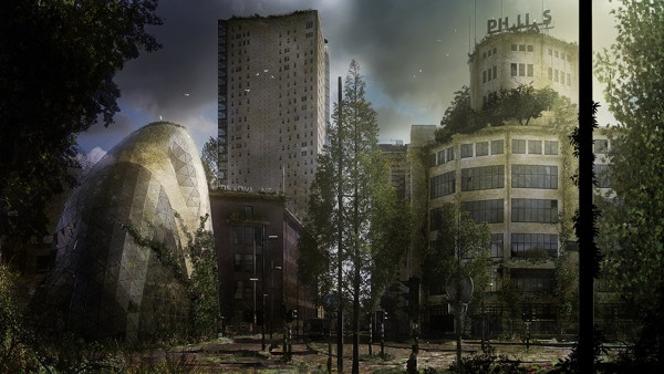 Abandoned City time lapse video | Eindhoven by Roy Korpel, via Behance
