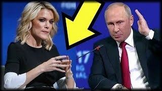 WATCH: MEGYN KELLY CONFRONTS PUTIN TO HIS FACE WHAT HE DOES NEXT IS GAME CHANGING