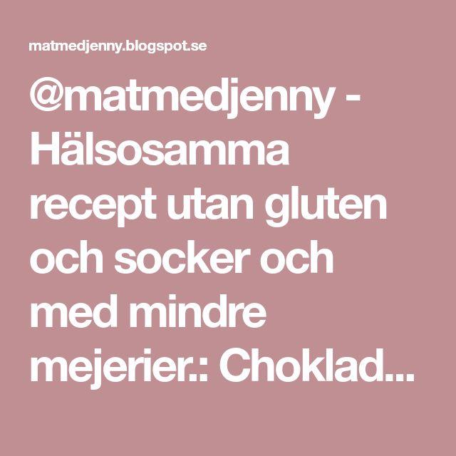 @matmedjenny - Hälsosamma recept utan gluten och socker och med mindre mejerier.: Chokladdoppade kokostoppar med saffran