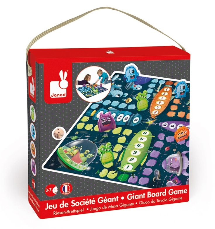 Janod - Giant Ludo Space Game and Puzzle