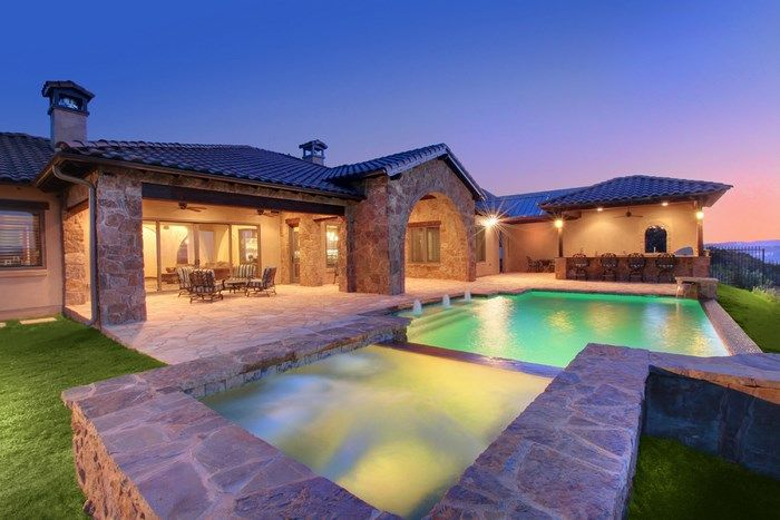 Designer Pools And Spas add photo Custom Pool In Austin Texas Built By Designer Pools Outdoor Living Wwwdesignerpoolstxcom Our Pools Pinterest Pool Spa And Pool Builders