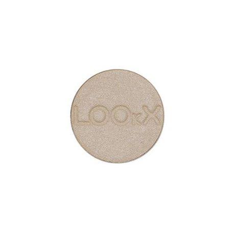LOOkX Eyeshadow Nr.126 Sand pearl+ is een hooggepigmenteerde oogschaduw met een subtiel glanzende finish. #LOOkX #Eyeshadow #BeautyinaBox