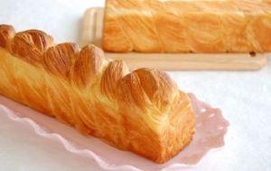 「スティックデニッシュ食パン【No.144】」※ミニスティック 2本分バターを贅沢にたっぷり折り込んだ、香り高いデニッシュ生地の食パンです。【楽天レシピ】