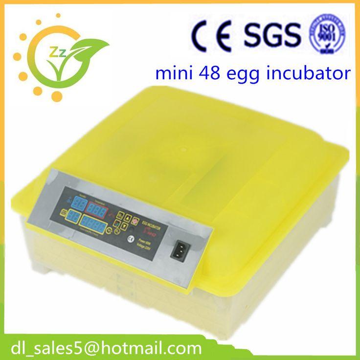 China cheap fully 48 automatic egg incubator free shipping small Chicken egg incubator hatching machine
