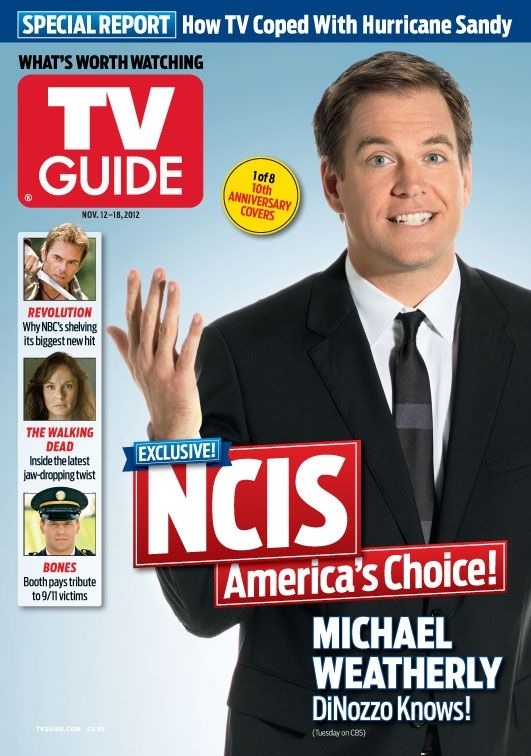 Michael na obálce TV Guide, 12. - 18. 11. 2012 (1 z 8 obálek 10-ti letého výročí)