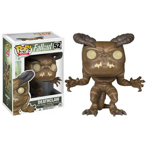 Deathclaw funko pop vinyl figure from the game Fallout #deathclaw #games #funko #pop_vinyl #popinabox