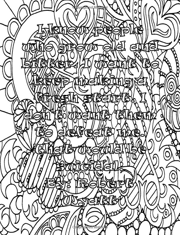 334 best WORDS & PHRASES #3 COLORING PAGES images on ...