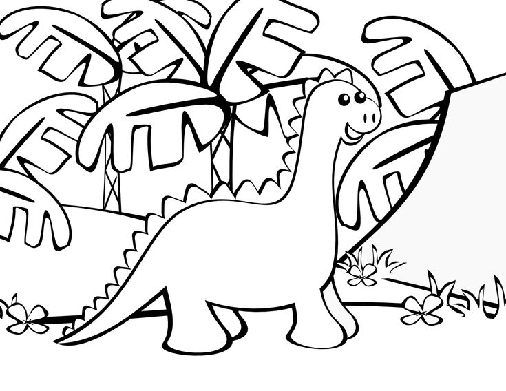 1000 Images About Coloriages Dinosaures On Pinterest
