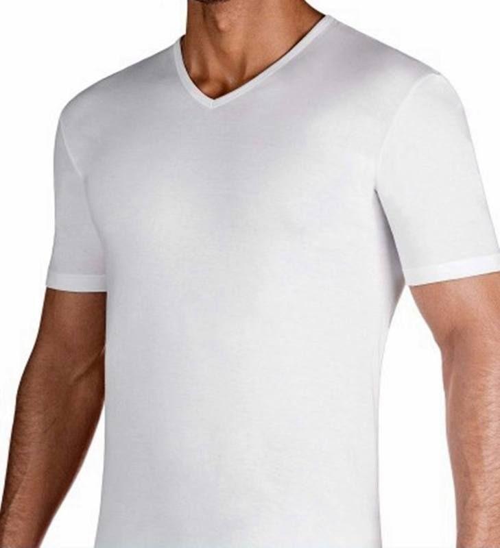 Camiseta interior impetus luxury Blanca. Cuello pico hilo. Gran resistencia a los lavados. Tejido sofisticado y elegante. Muy suave al tacto. http://www.varelaintimo.com/83-camisetas-manga-corta